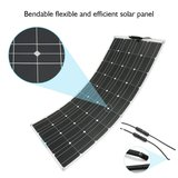 Sunpower ETFE 100W 120W 150W 180W Marine Semi Flexible Solar Panel Prices