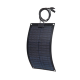 monocrystalline 20w mono semi flexible solar panel