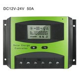 12V 24V 48V 10A 20A 30A 40A 50A 60A PWM mini hybrid solar charge controller for solar panel charge s