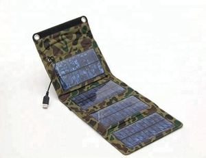 foldable portable solar charger for mobile phone