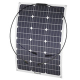Outdoor Waterproof Solar Panel, New Flexible Polycrystalline Portable Solar Panel Charger for Autumo
