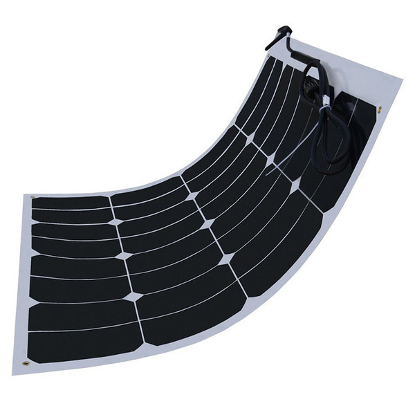 100w 120w 150w 200W 12V Mono Semi Flexible Roof Solar Panel For Home Solar Power System