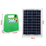 portable DC solar kits 10w 20w 30w solar lighting system with radio mp3 for Africa market