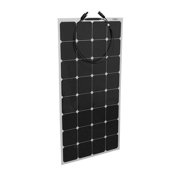 24V High Efficiency solar cell 80w 100w 120w 150w mini semi flexible solar panel for RV boats marine