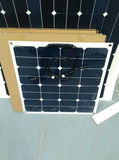 Hot sale high efficiency sunpower 120w marine semi flexible solar panel prices for sailing boat with