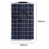 Sunpower mono cell 100W EFTE type semi flexible solar panel for USA power system