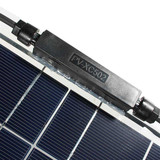 High efficiency waterproof 100w 12v ETFE semi flexible solar panel for boat rv system