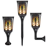 Solar flickering flames light Outdoor Dancing Flickering Flames Torches Lights Waterproof 96 LED Lan