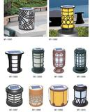 Wholesale Price 1W Pathway Lamp Ip65 Outdoor Solar Landscape Bollard Garden Light Led