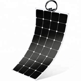 Highest Efficiency 100W 18V SunPower Semi Flexible Solar Panel