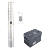 Fast Solar submersible  water pump